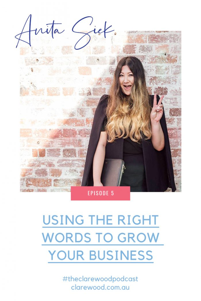 Using the right words to grow your business – with Anita from Wordfetti